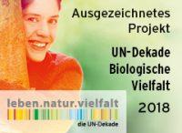 HonigConnection erhält Auszeichnung als Projekt der UN-Dekade für Biologische Vielfalt